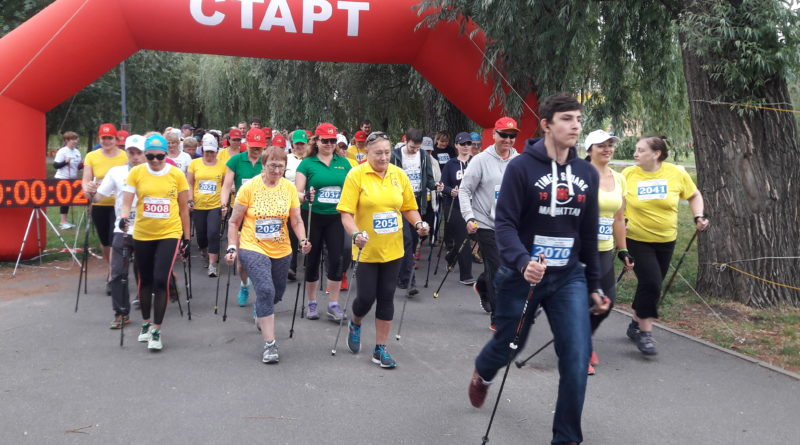 24.06.2018.Kiev. The first competition of the UKRAINIAN  NORDIC WALKING FEDERATION
