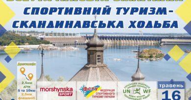 Всеукраїнські змагання 16 травня 2021 р на Хортиці
